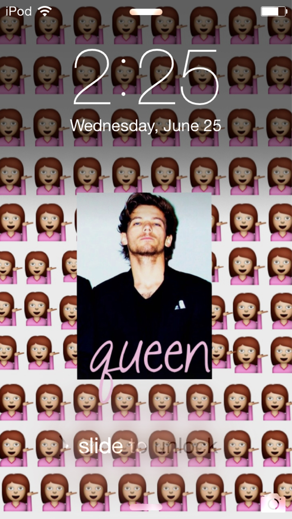 Sassy Queen Louis Tomlinson Lock Screen With Sassy , HD Wallpaper & Backgrounds
