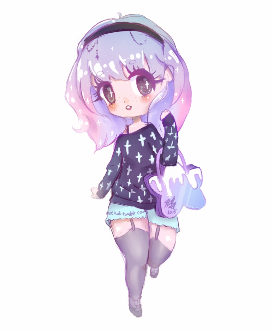 Pastel Goth Png Chibi Pastel Goth Girl 3177760 Hd Wallpaper Backgrounds Download