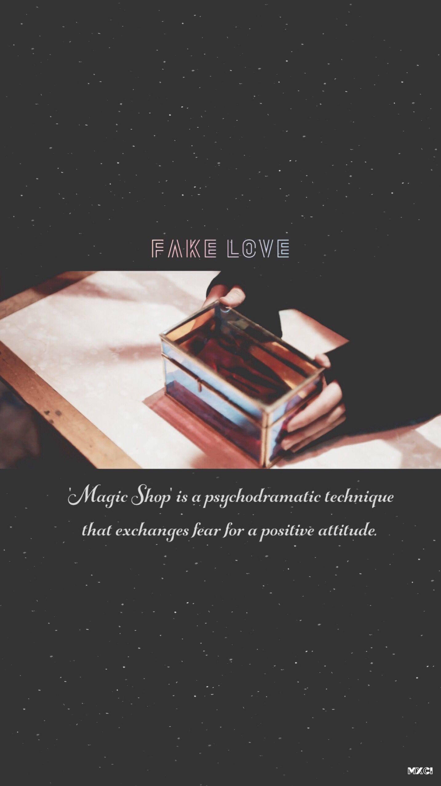Bts Wallpaper Lytear Fake Love Teaser Bts In 2019 Bts - Fake Love Lyrics Bts , HD Wallpaper & Backgrounds