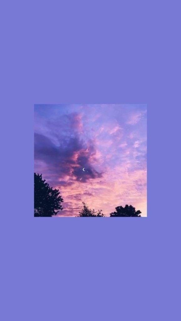 Fond D Écran Aesthetic Violet , HD Wallpaper & Backgrounds
