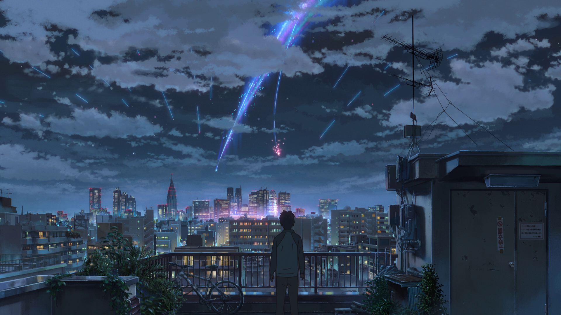 Your Name Anime Background , HD Wallpaper & Backgrounds