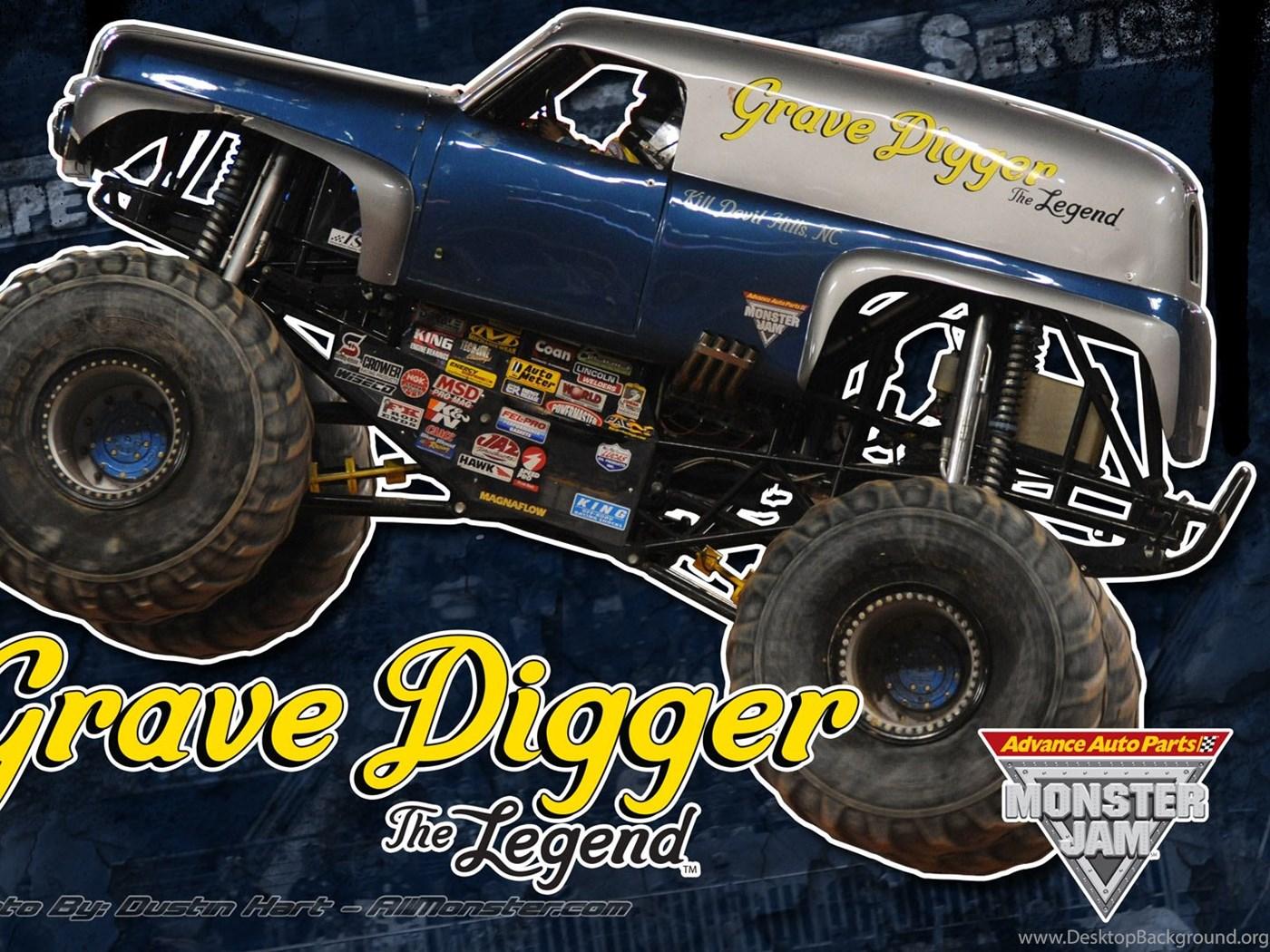 Monster Truck Wallpapers - Advance Auto Parts Monster Jam , HD Wallpaper & Backgrounds