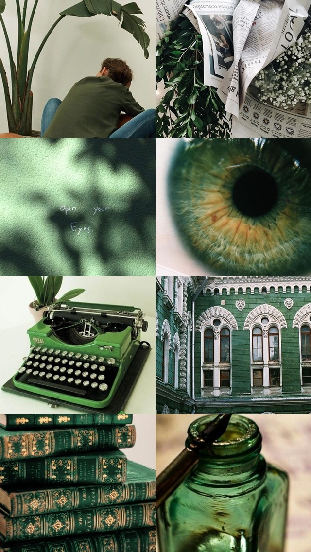 Slytherin Journalist Background Lockscreen Tone Green Background Aesthetic 3187125 Hd Wallpaper Backgrounds Download