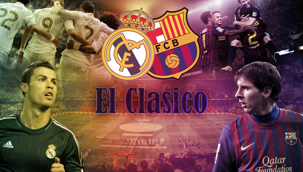 El Clasico, Football, Lionel Messi, Ronaldo, Messi, - Messi And Ronaldo Classic , HD Wallpaper & Backgrounds
