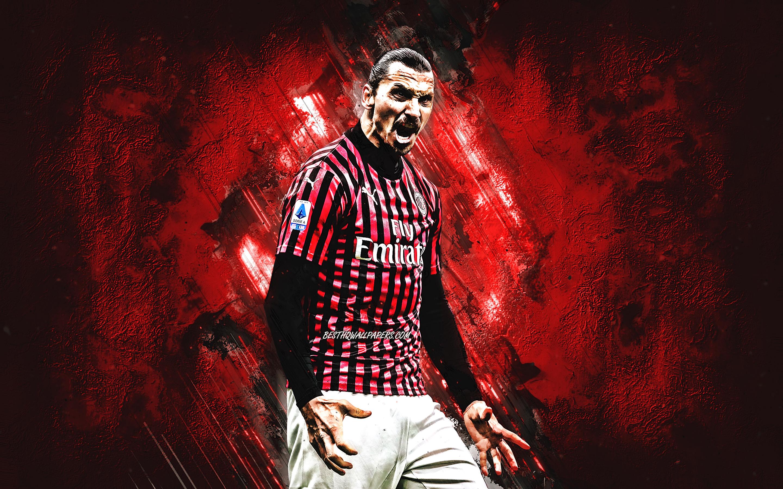 Zlatan Ibrahimovic Swedish Soccer Player Ac Milan Ibrahimovic Milan Wallpaper 2020 3189296 Hd Wallpaper Backgrounds Download