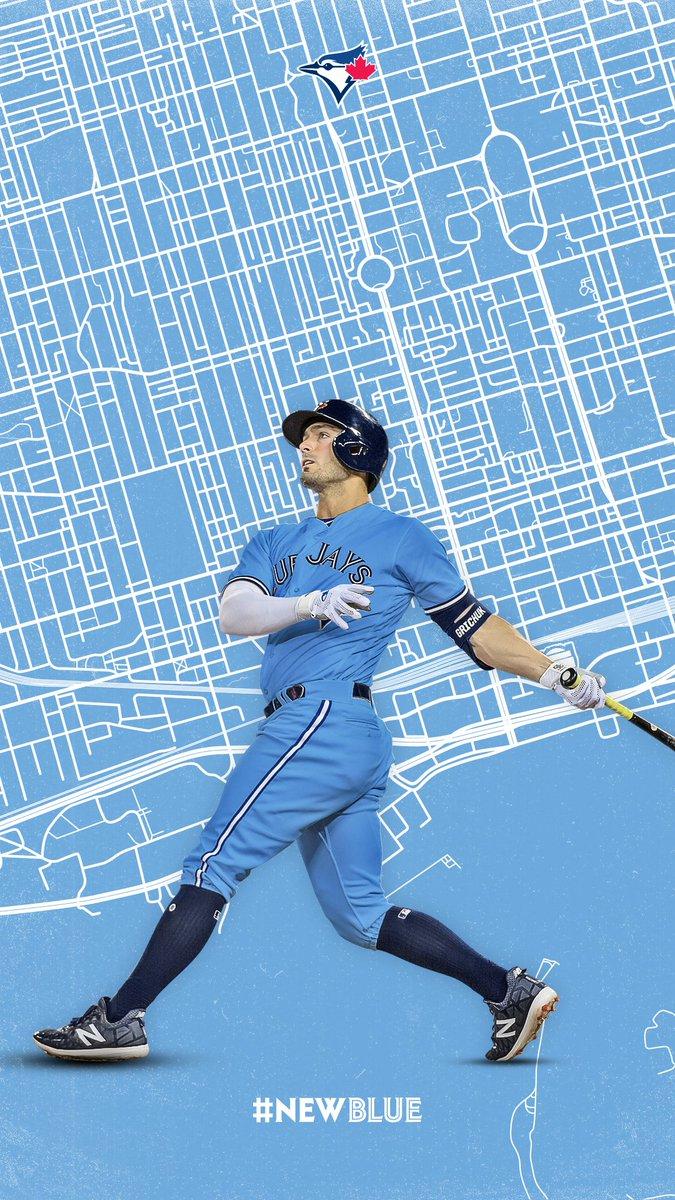 #newblue Toronto Blue Jays , HD Wallpaper & Backgrounds