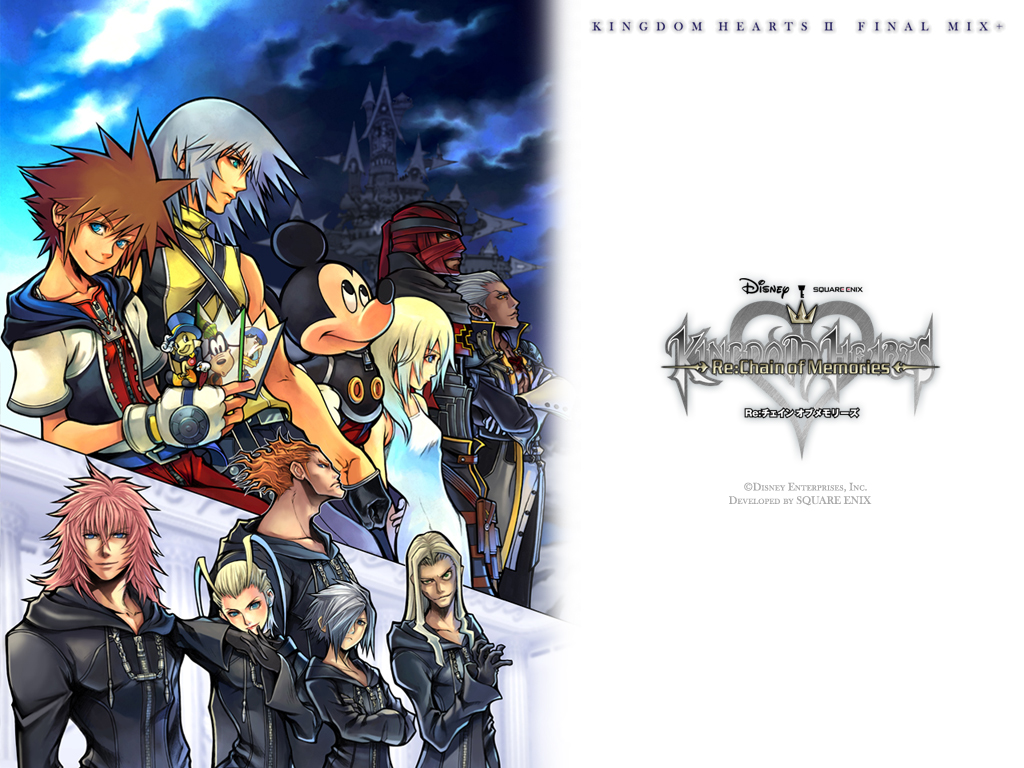 Kingdom Hearts Chain Of Memories Poster , HD Wallpaper & Backgrounds