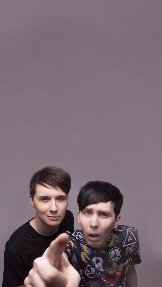 Dan And Phil Iphone {1/idek} Wallpaper - Dan And Phil , HD Wallpaper & Backgrounds