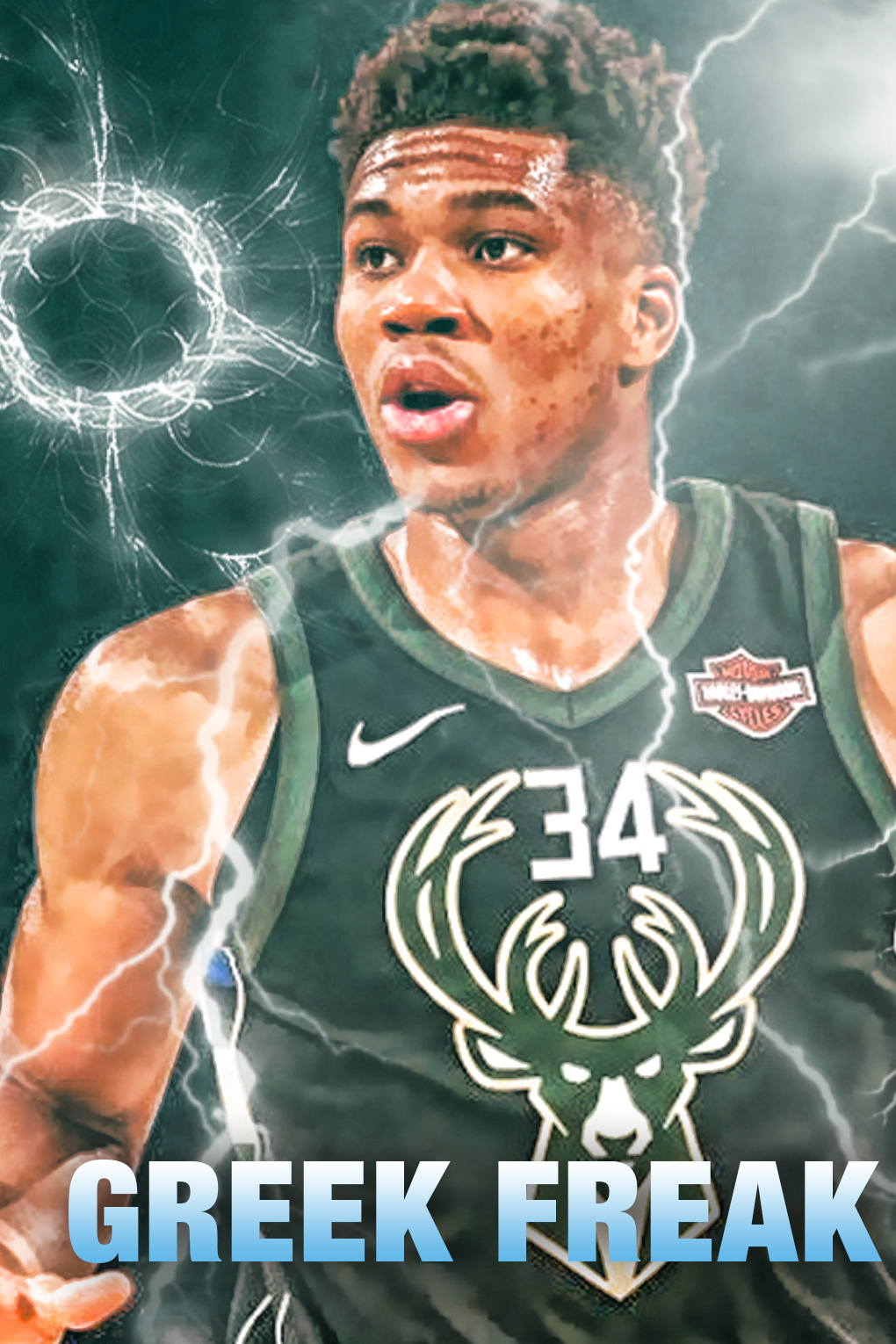Giannis Antetokounmpo Cool 3199076 Hd Wallpaper Backgrounds Download