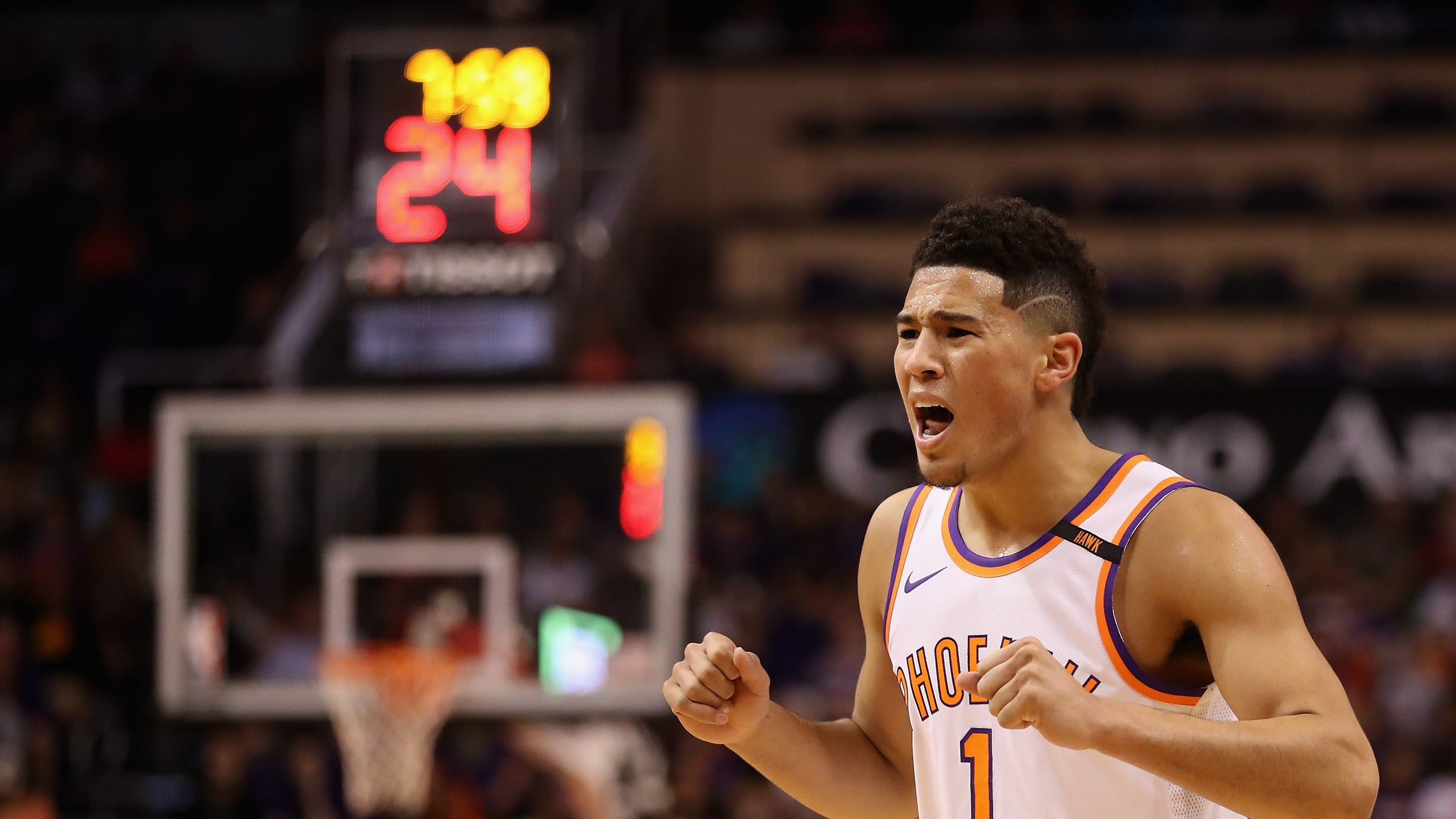 Image May Contain Devin Booker Human Person People - Basketball Player , HD Wallpaper & Backgrounds