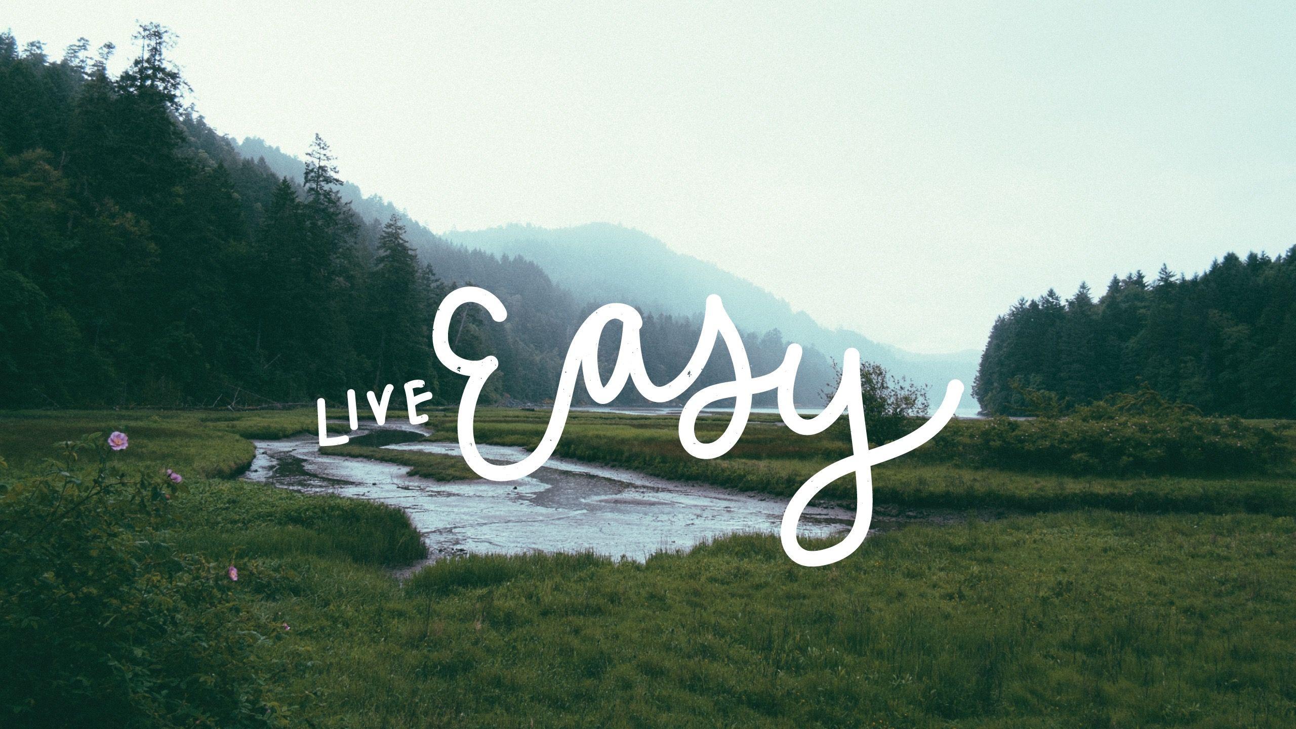 31630757 Live Easy - Live Easy Desktop Background , HD Wallpaper & Backgrounds