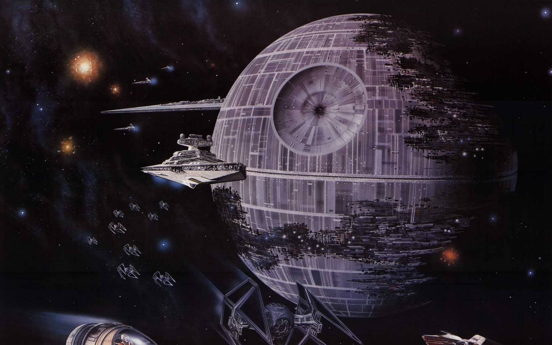 Star Wars Death Star Hd Background Wallpaper Hi Res Star Wars Posters 323772 Hd Wallpaper Backgrounds Download