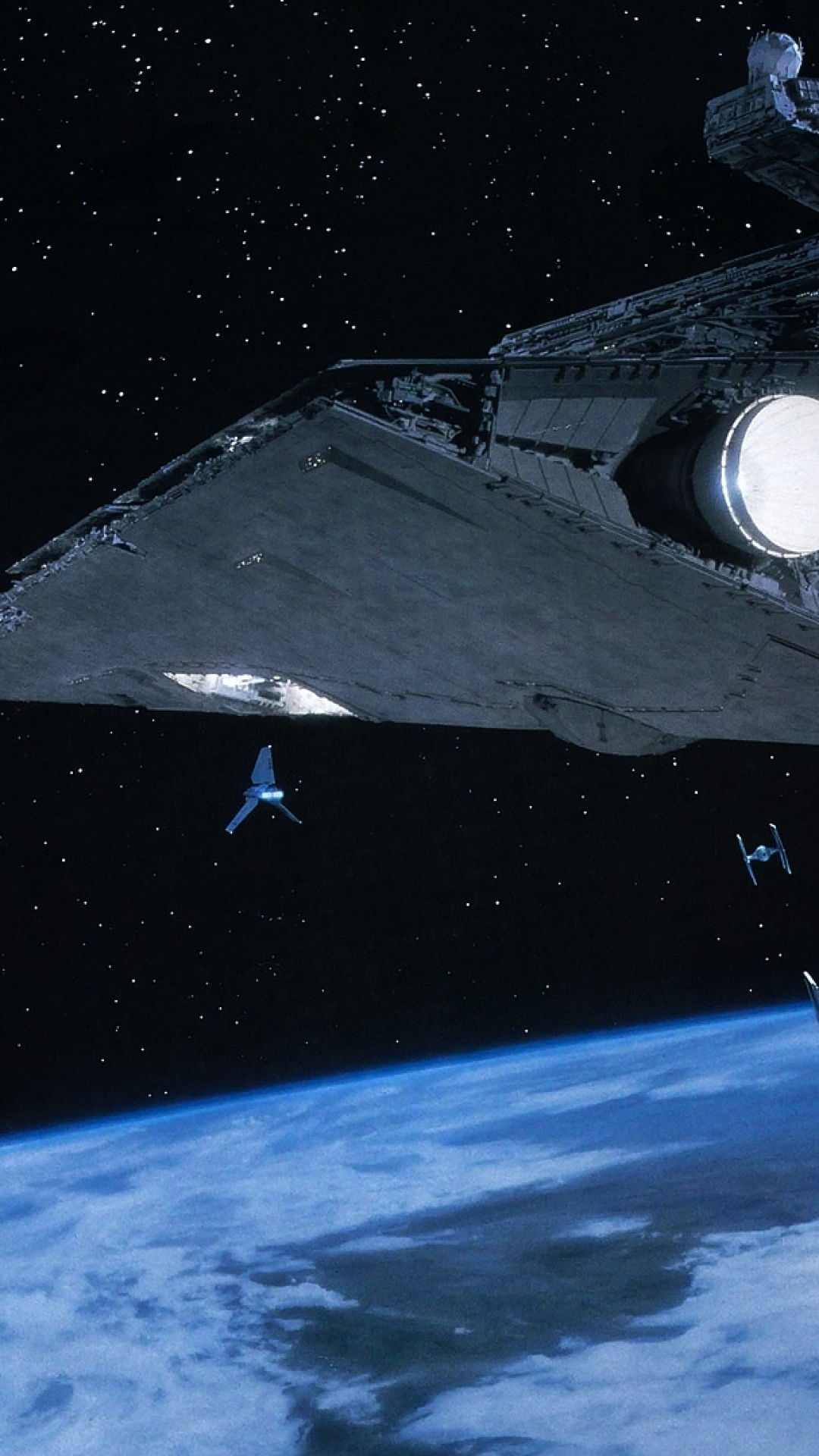 Death Star And Star Destroyer Iphone Wallpaper 323826