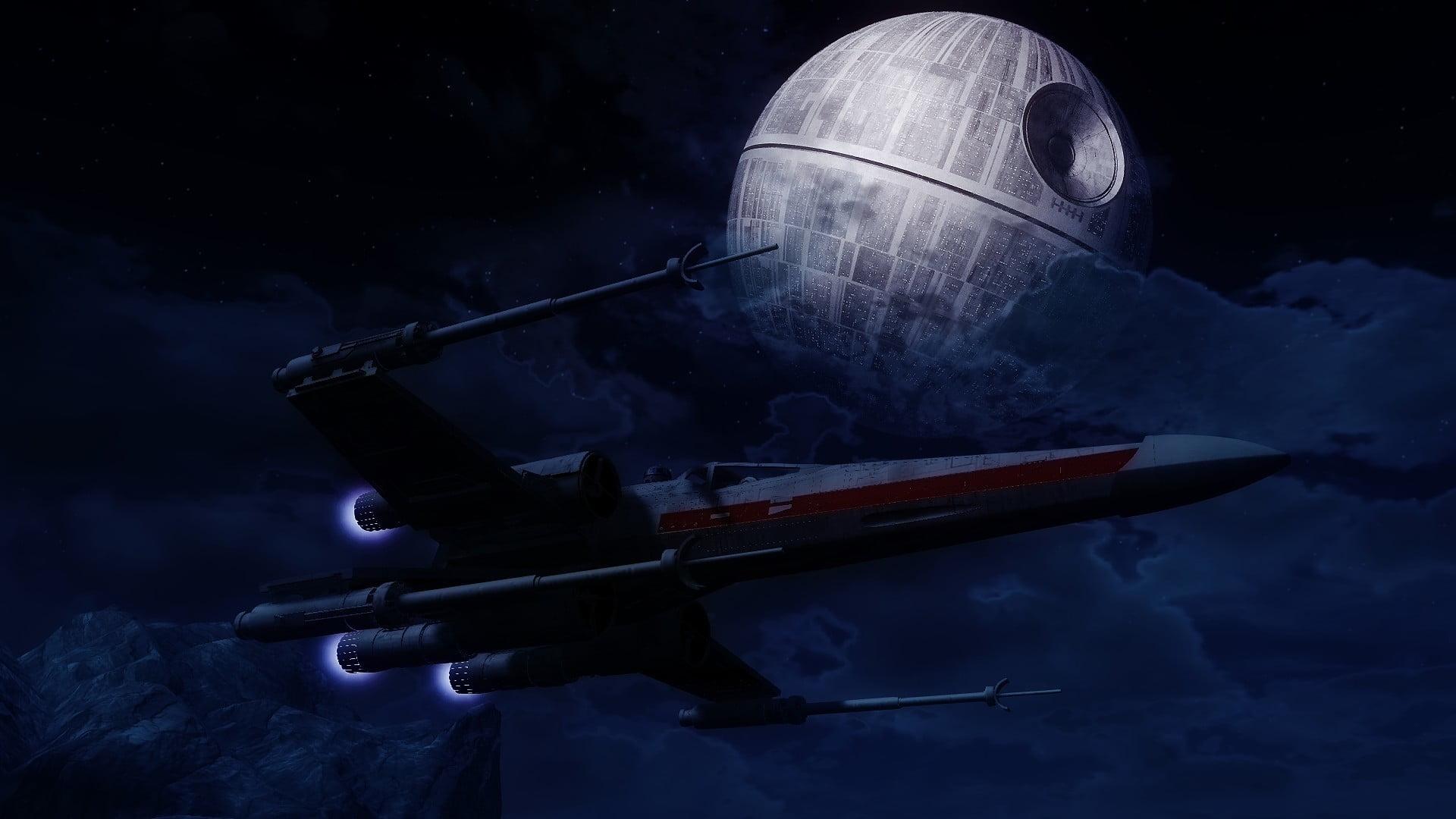 Star Wars Death Star Wallpaper Star Wars Artwork Star Wars Death Star 324390 Hd Wallpaper Backgrounds Download