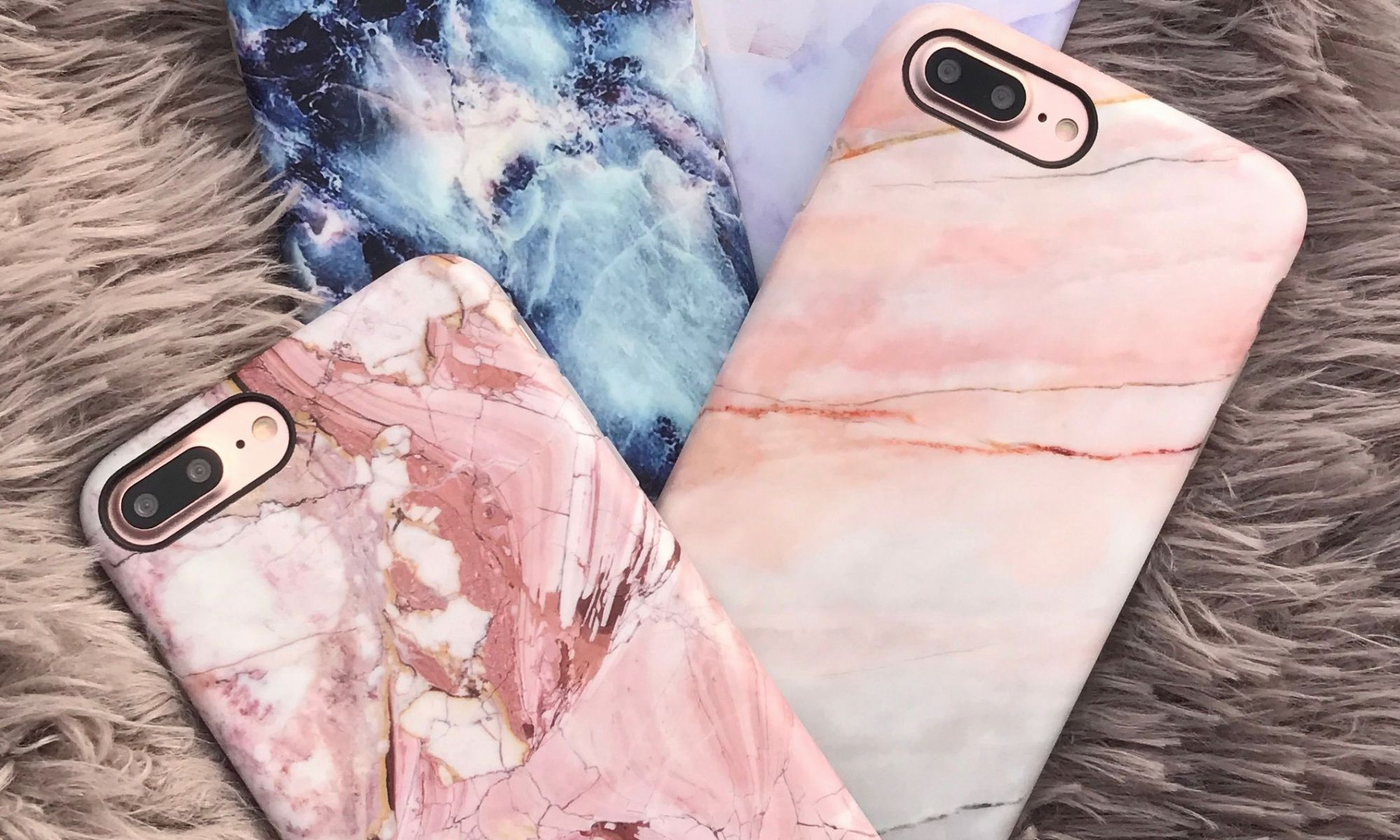 Cute Paris Wallpaper Girly > - Iphone 7 Plus Marble Phone Case , HD Wallpaper & Backgrounds