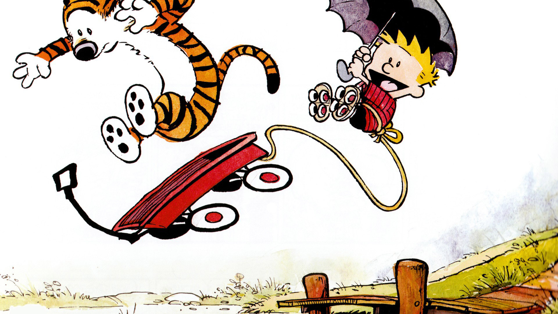 Pictures Wallpapers Cute Calvin And Hobbes Wallpaper