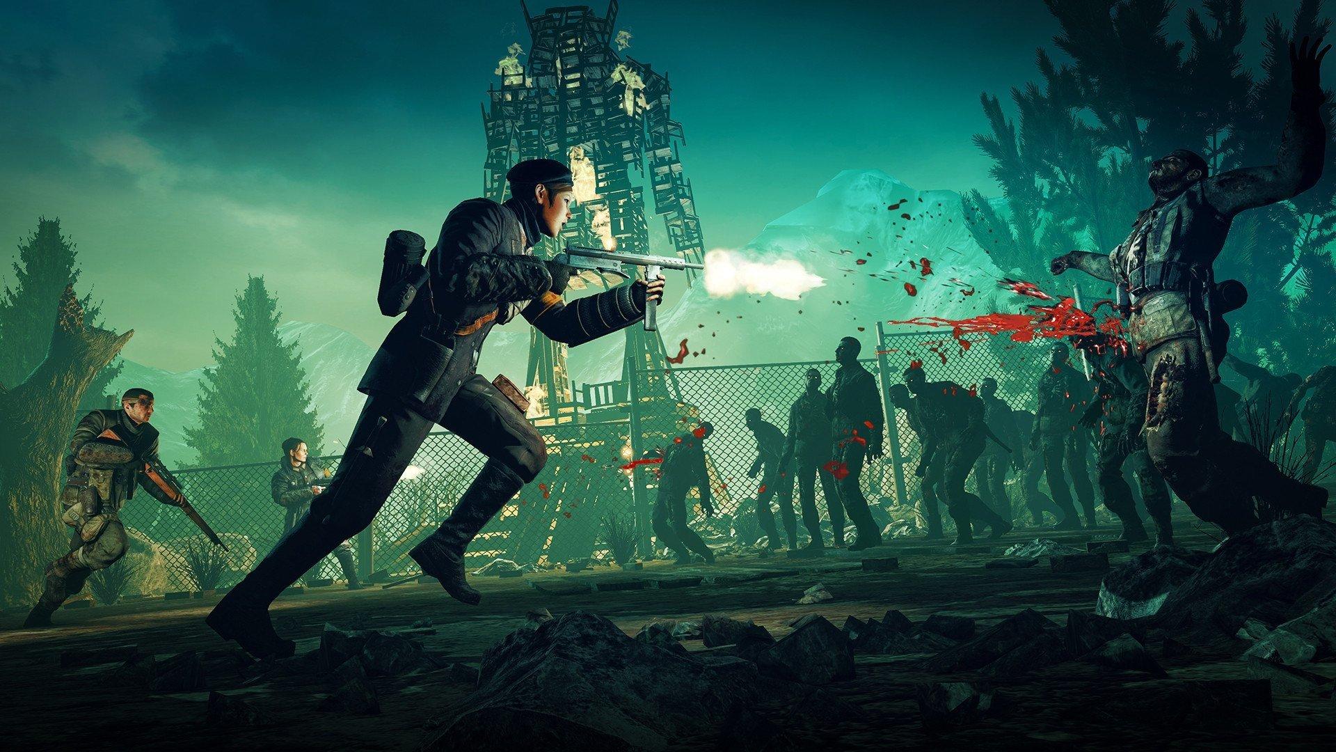Nazi Zombie Army Hd Wallpapers Zombie Army Trilogy Art