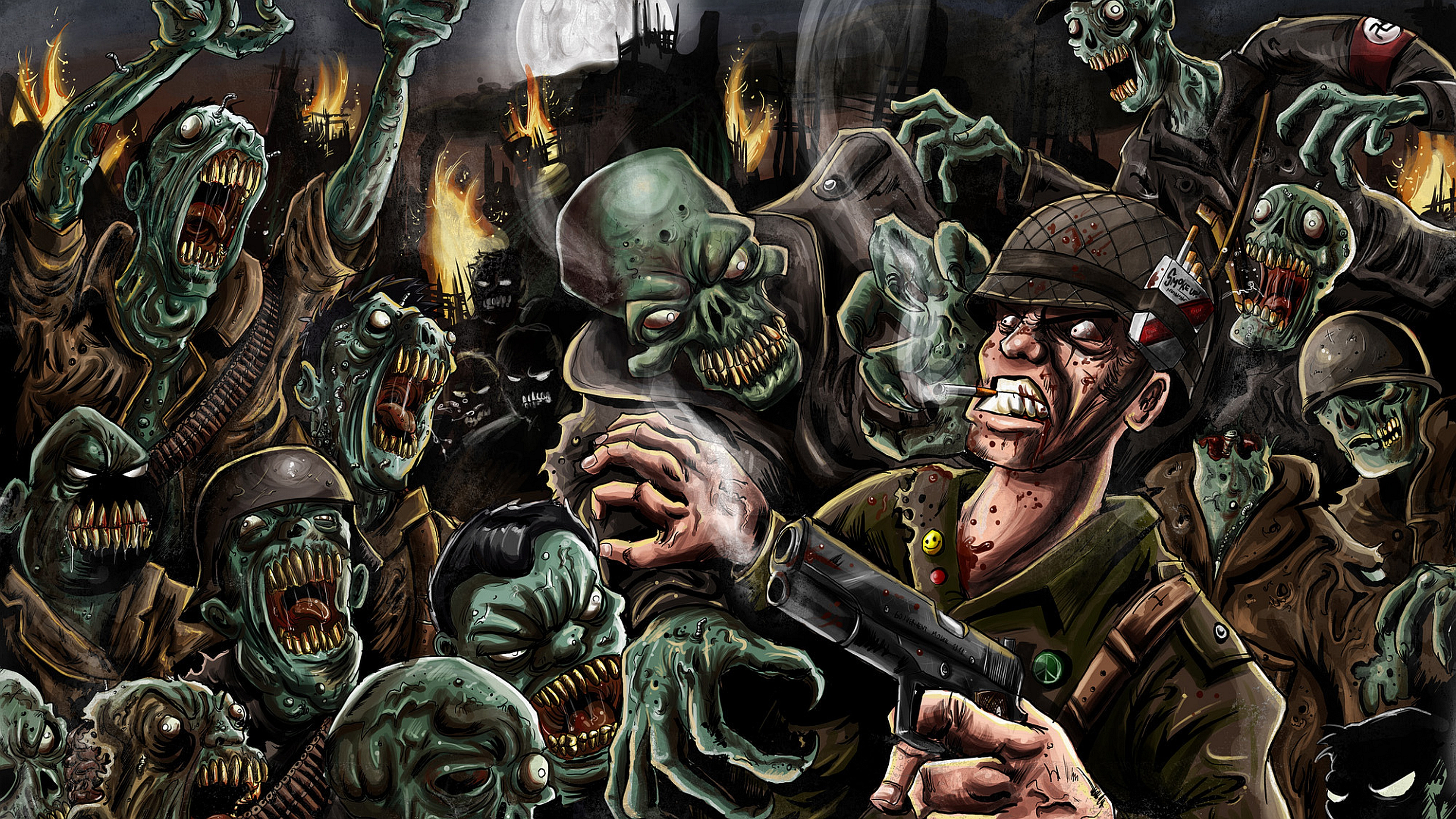 Wallpapers For Zombie Wallpaper Hd Cod Zombies 326611