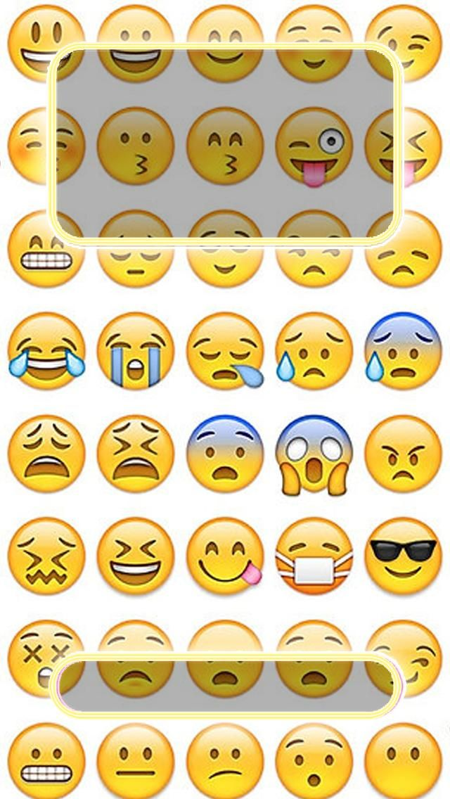 Emojis Lock Screen - Emoji Lock Screen Wallpaper For Iphone , HD Wallpaper & Backgrounds