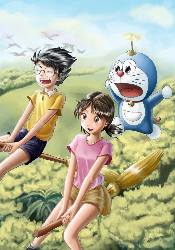 Gambar Wallpaper Seram Nobita And Shizuka Wallpaper Hd 327645