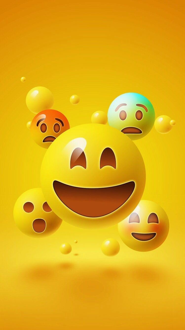 32 327768 wallpaper iphone iphone emoji wallpaper hd