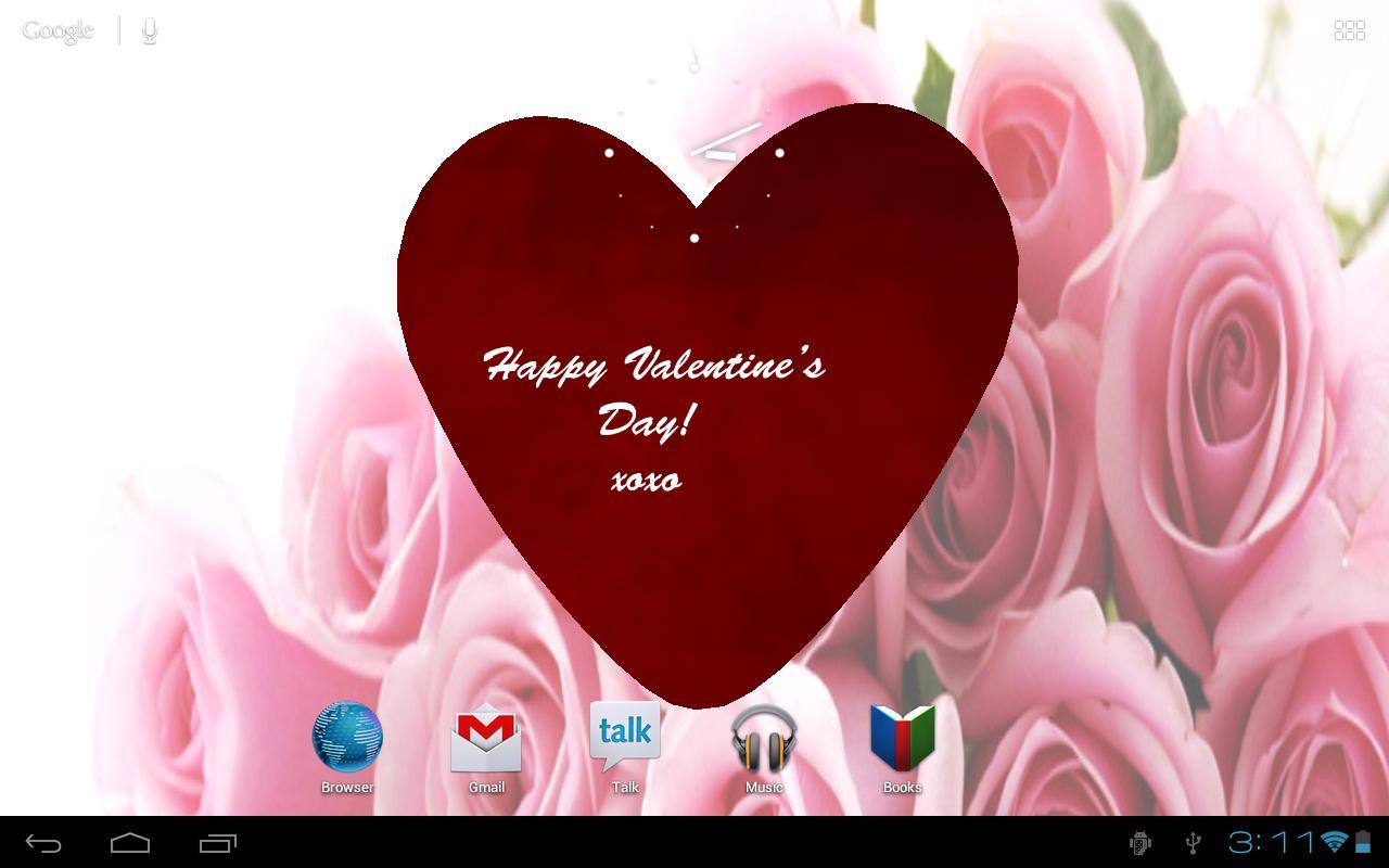 Brilliant Valentines Day Live Wallpaper - Happy Valentines Day Annie , HD Wallpaper & Backgrounds
