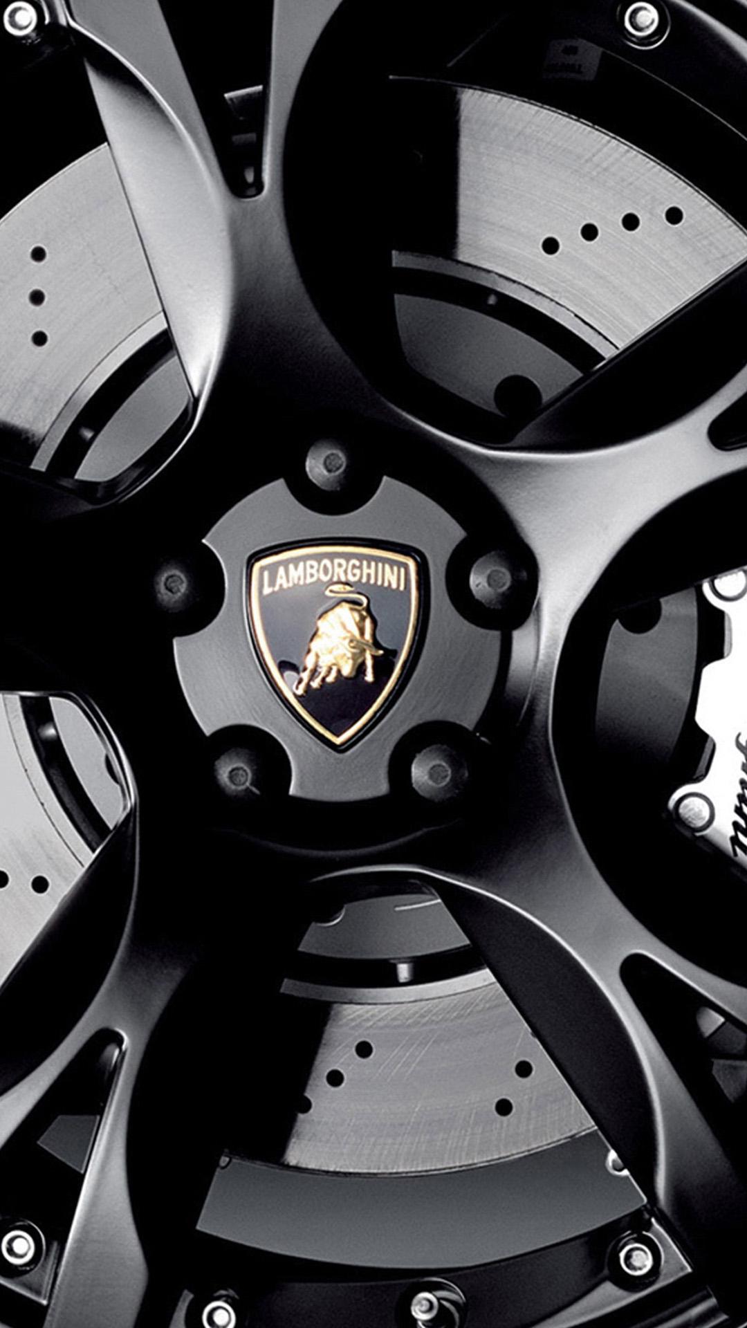 Lamborghini Logo Wallpaper Iphone 7 , HD Wallpaper & Backgrounds
