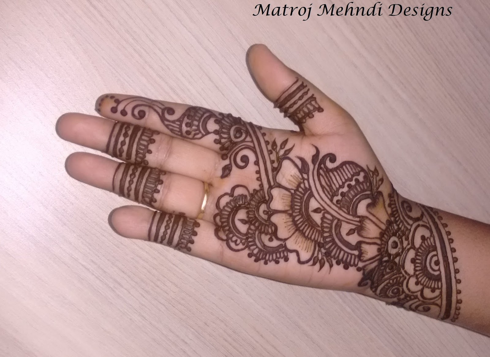 Simple New Mehndi Design , HD Wallpaper & Backgrounds
