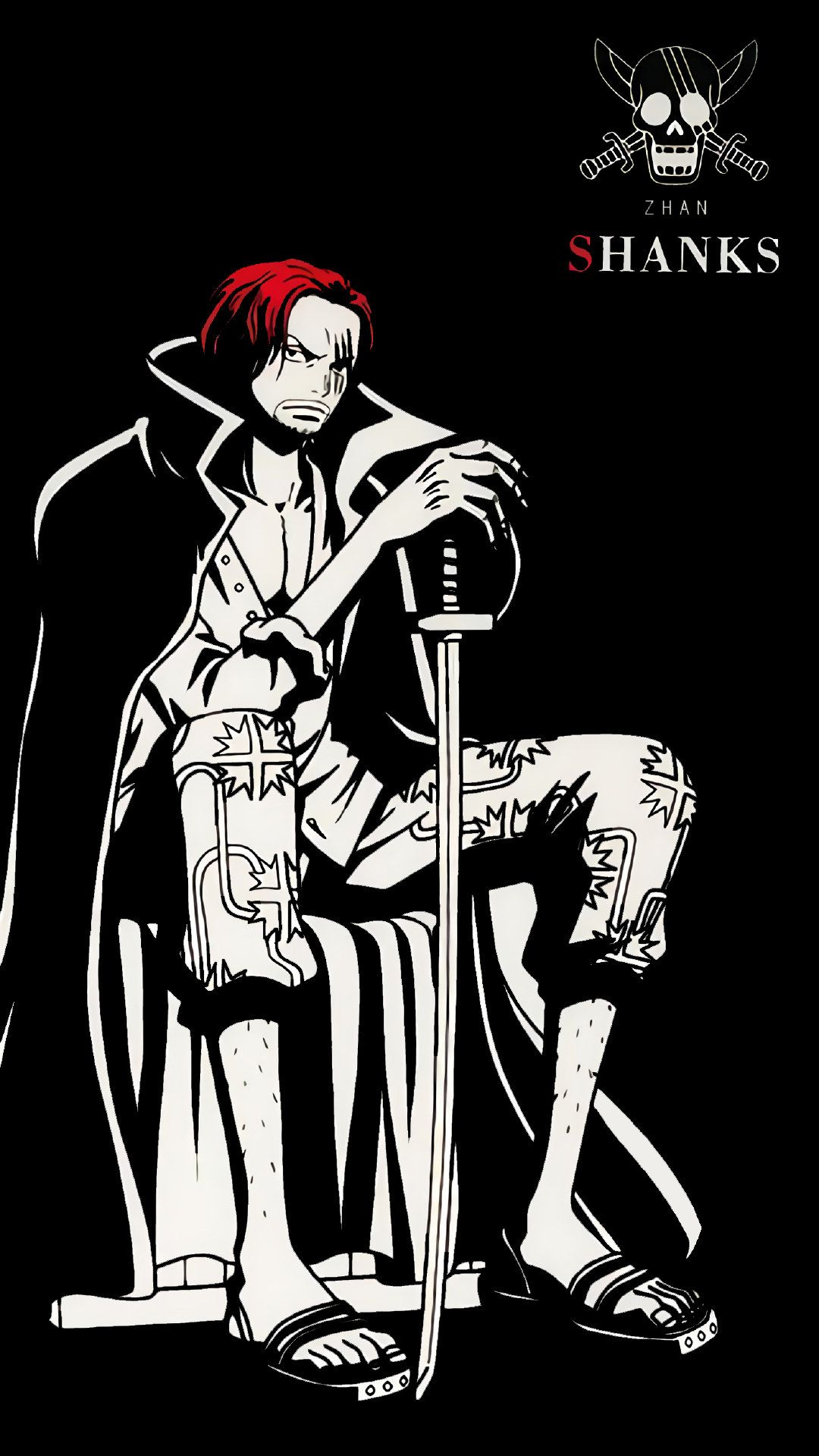 One Piece Black And White 3208918 Hd Wallpaper Backgrounds Download