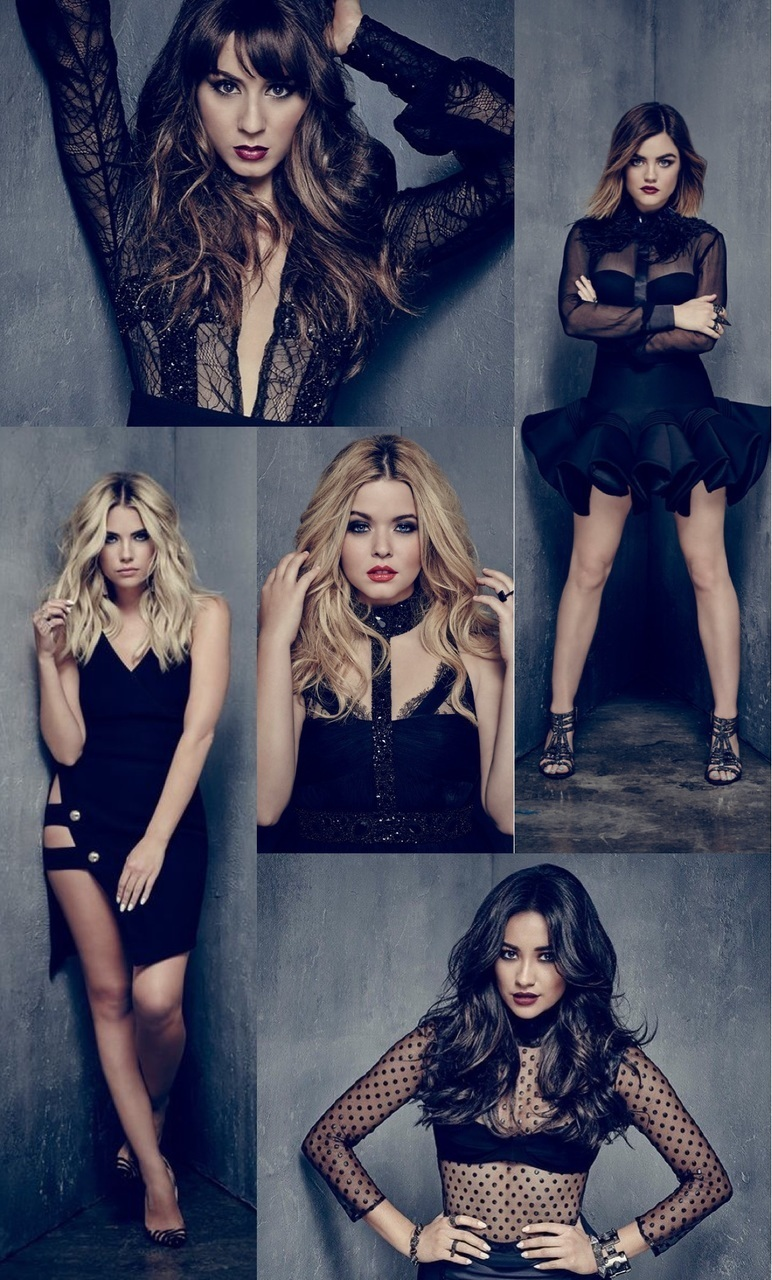 Mitchell, Wallpaper, And Lucy Hale Image - Ashley Benson Photoshoot Pretty Little Liars , HD Wallpaper & Backgrounds