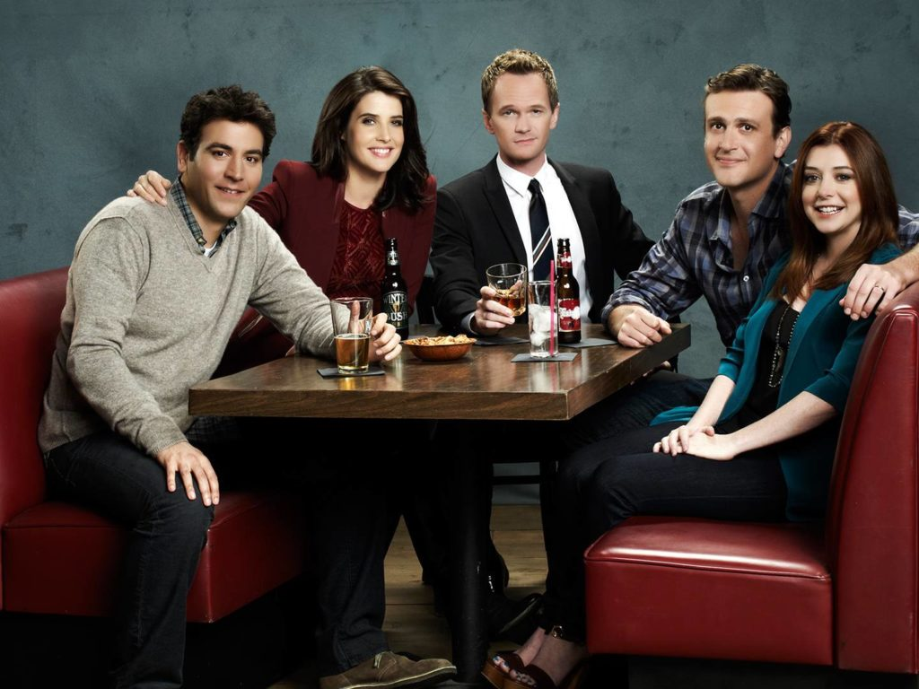 Met Your Mother Cast , HD Wallpaper & Backgrounds