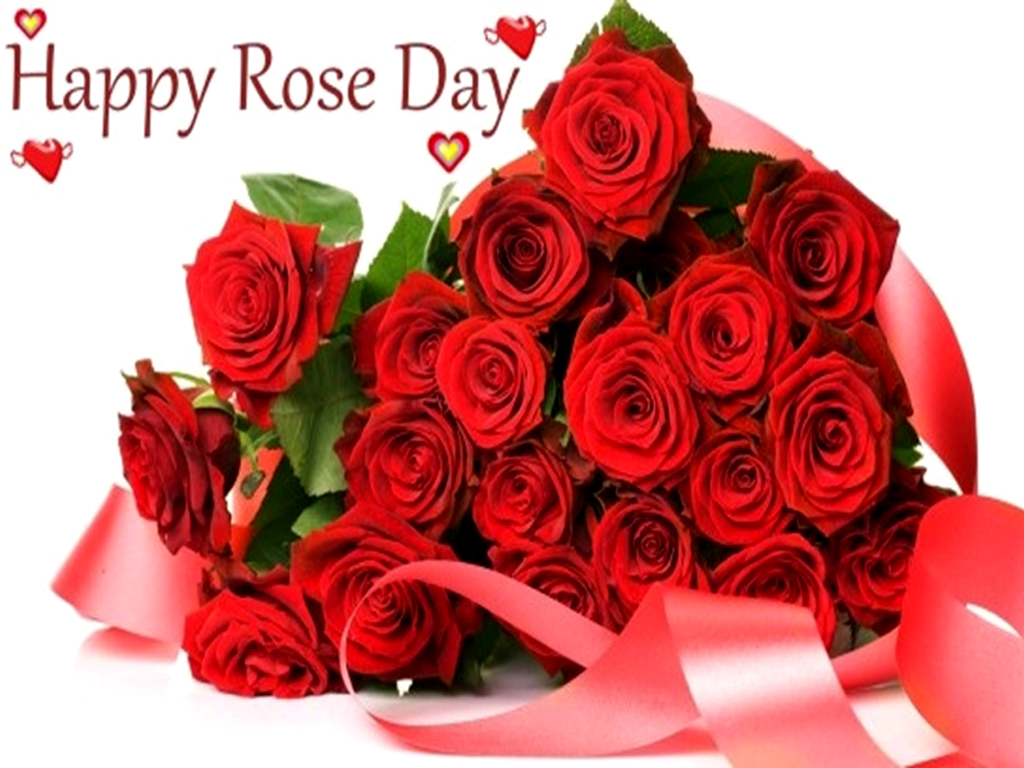 Rose Day Wallpaper, Gift Pack Bunch Of Roses For Your - Romantic Happy Rose Day , HD Wallpaper & Backgrounds