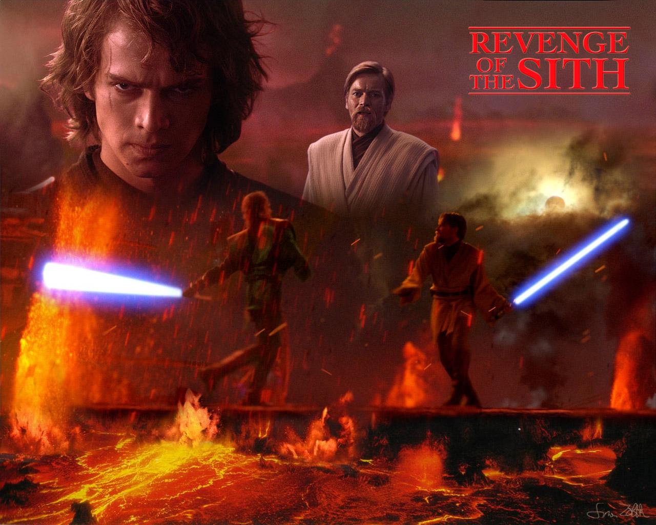 Bintang Wars Wallpaper - Star Wars Revenge Of The Sith , HD Wallpaper & Backgrounds