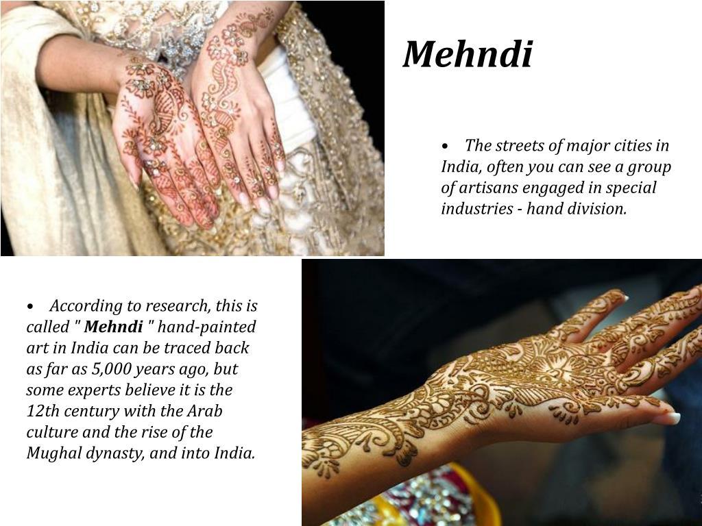 Slide1 L - - Hindu Wedding Henna Hand Tattoo , HD Wallpaper & Backgrounds