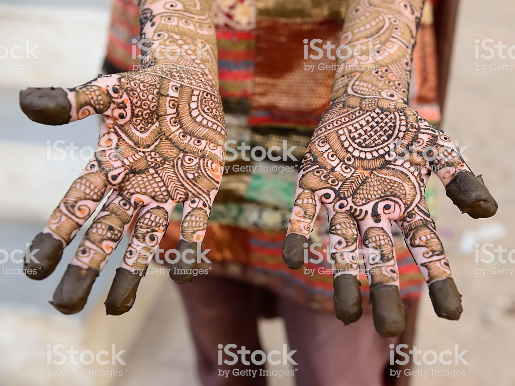 Hindu Henna Design On Hands Of Women From India - Full Body Henna Tattoos , HD Wallpaper & Backgrounds