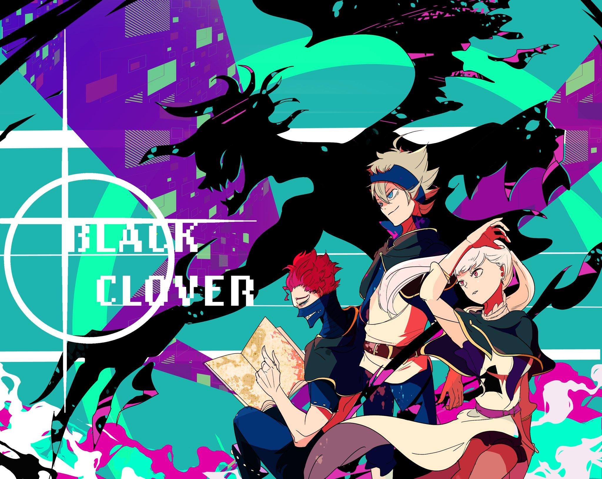 Black Clover Wallpaper Black Clover Wallpaper New 3217330 Hd Wallpaper Backgrounds Download