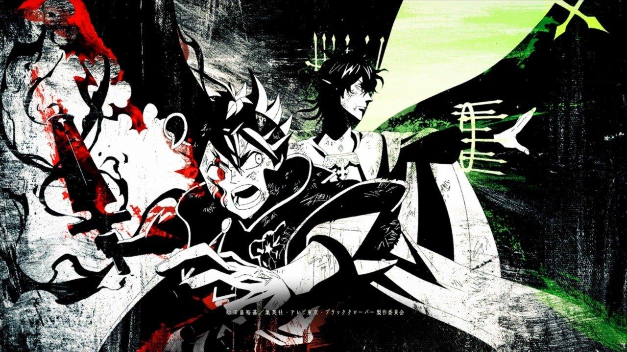 Black Clover Asta Yuno 3217337 Hd Wallpaper Backgrounds Download
