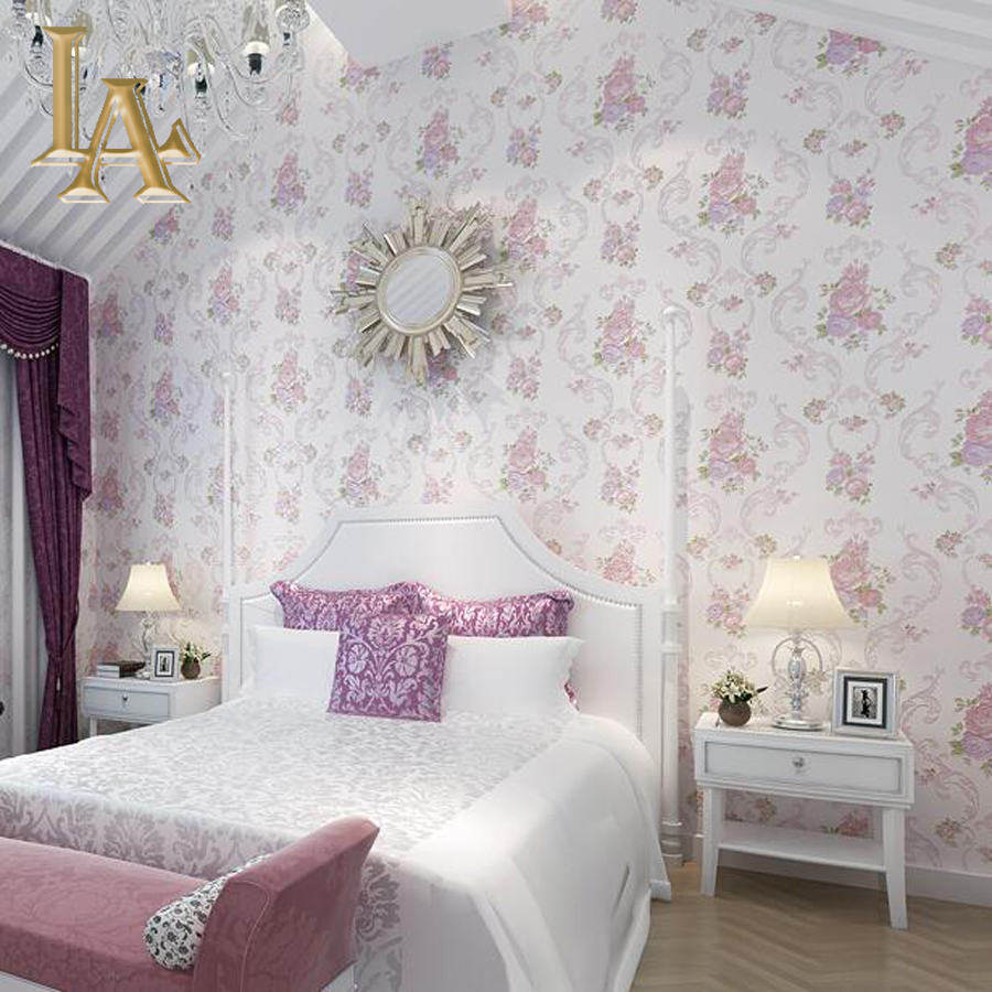 Bedroom Wallpaper B Q Flower Wallpaper In Bedroom Purple 3224834 Hd Wallpaper Backgrounds Download