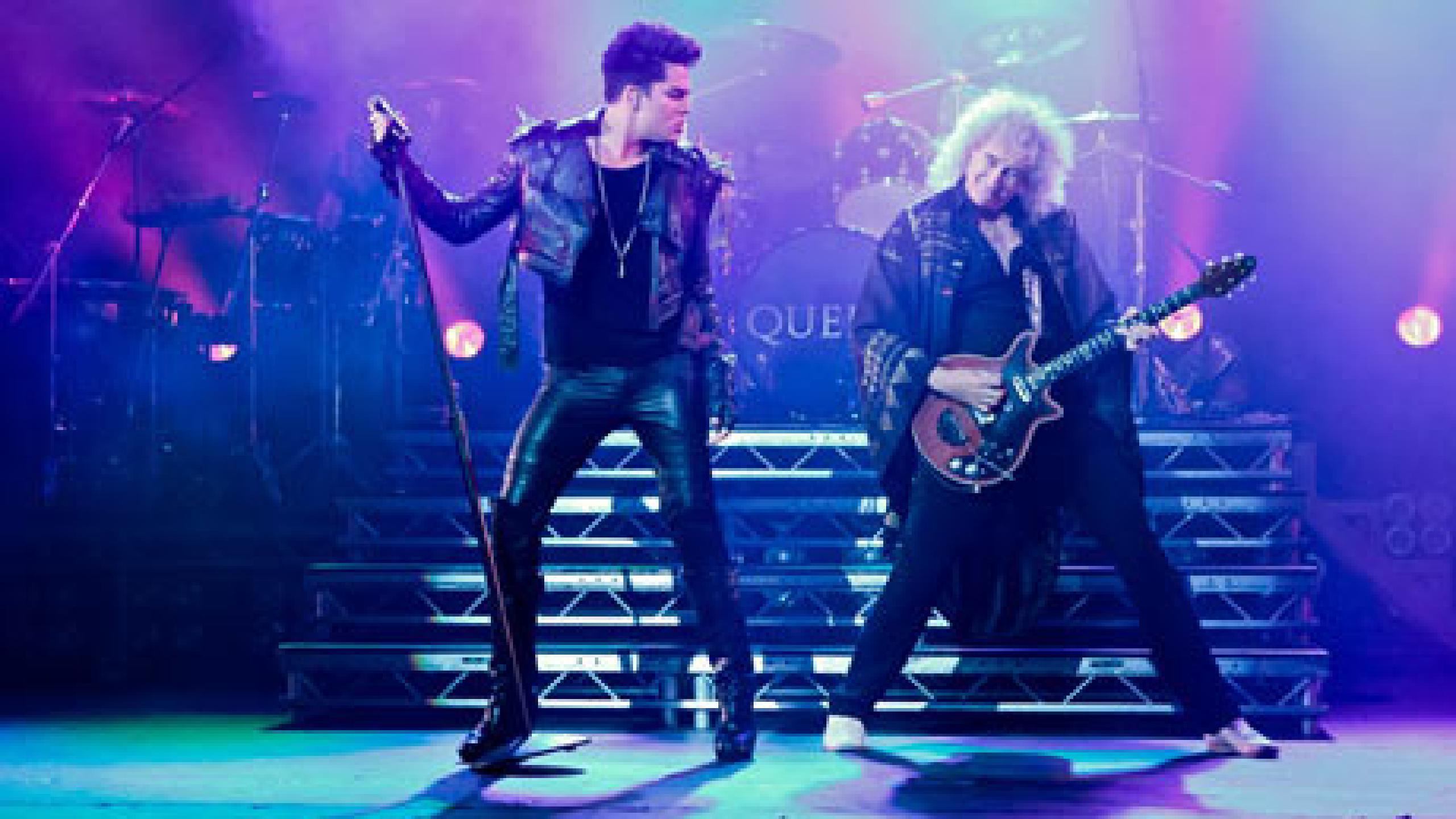 Queen & Adam Lambert Concert , HD Wallpaper & Backgrounds