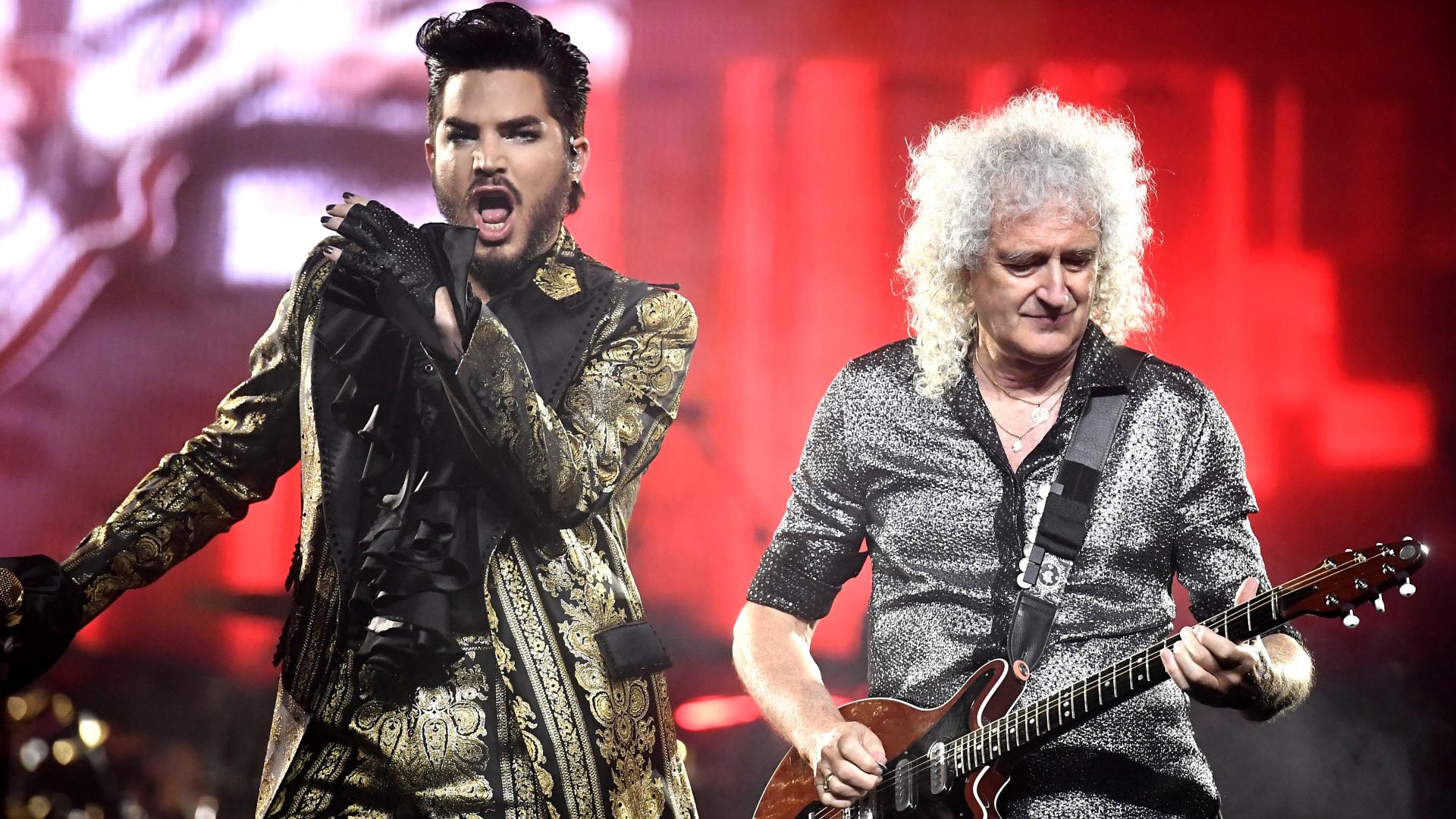 Queen And Adam Lambert , HD Wallpaper & Backgrounds