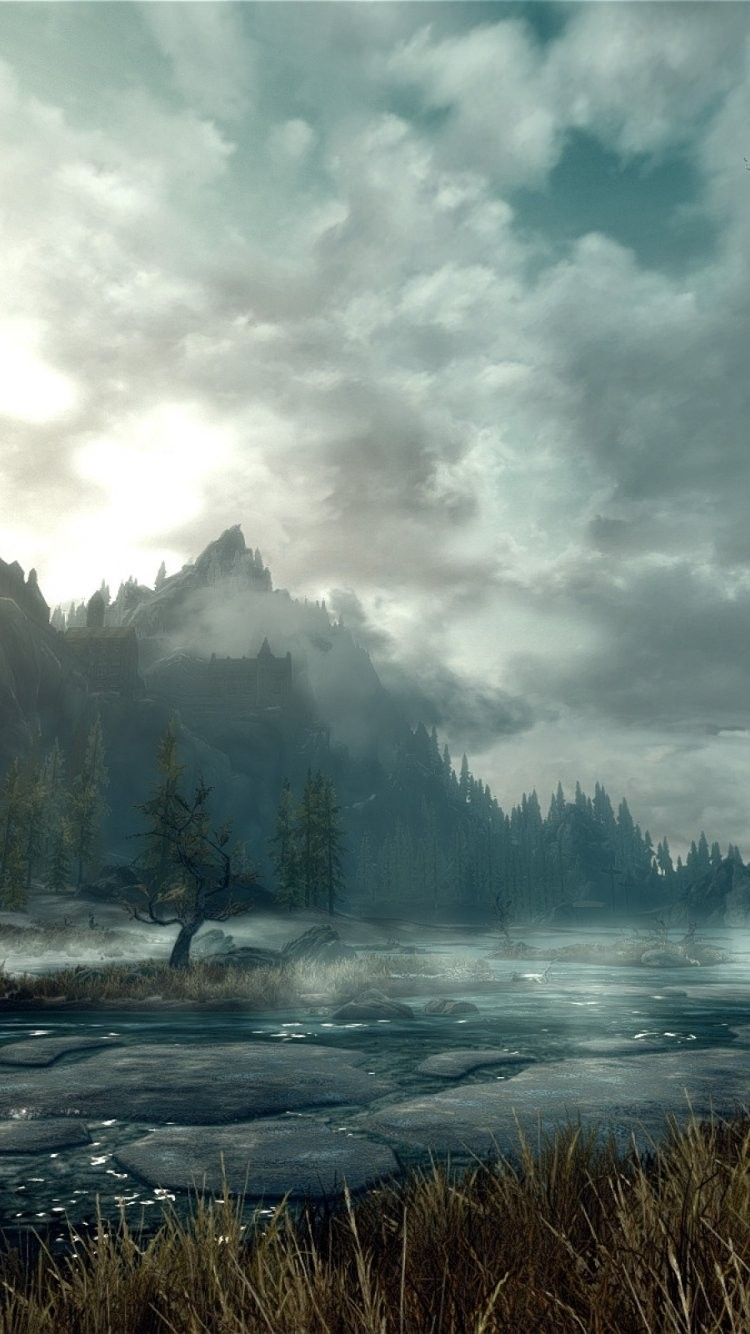 Elder Scrolls Wallpaper Iphone 3231651 Hd Wallpaper Backgrounds Download