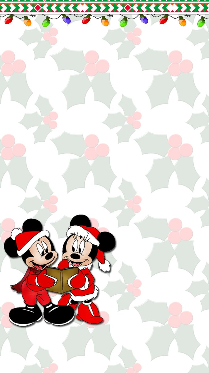 Mickey Mouse Clubhouse Christmas Wallpaper Iphone - Happy Holidays Mickey Mouse Gif , HD Wallpaper & Backgrounds