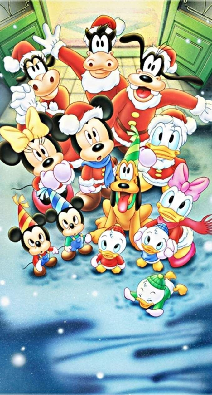 323 3234473 mickey mouse christmas wallpaper mickey mouse and friends