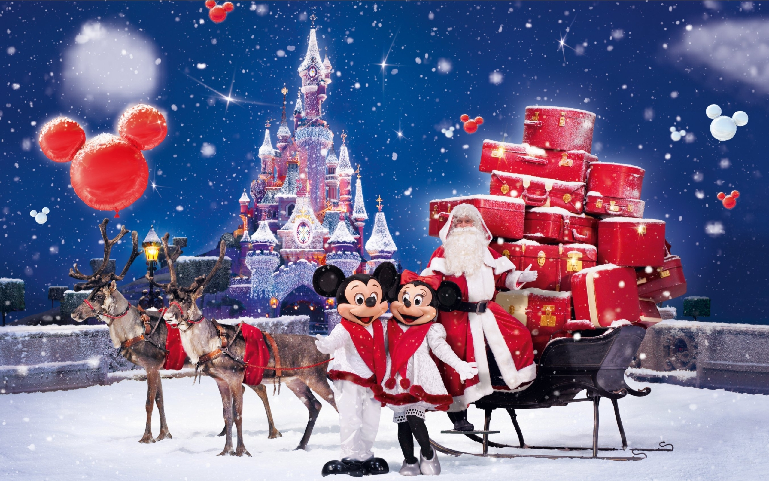 323 3234629 christmas wallpapers santa claus gifts wishes greetings disney