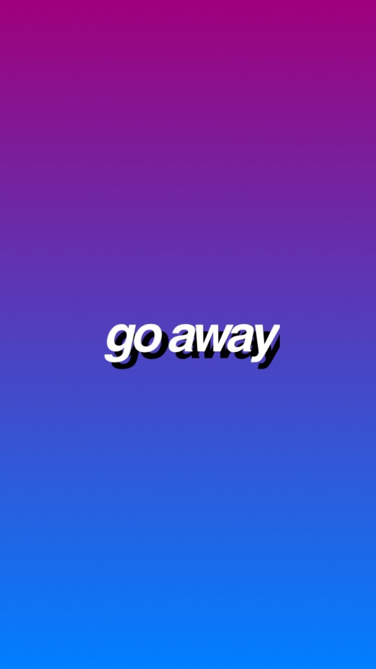 Iphone 6 Wallpaper Tumblr Hipster - Go Away Wall Paper , HD Wallpaper & Backgrounds