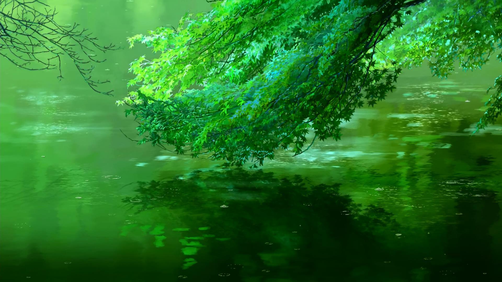 Garden Of Words Backgrounds , HD Wallpaper & Backgrounds