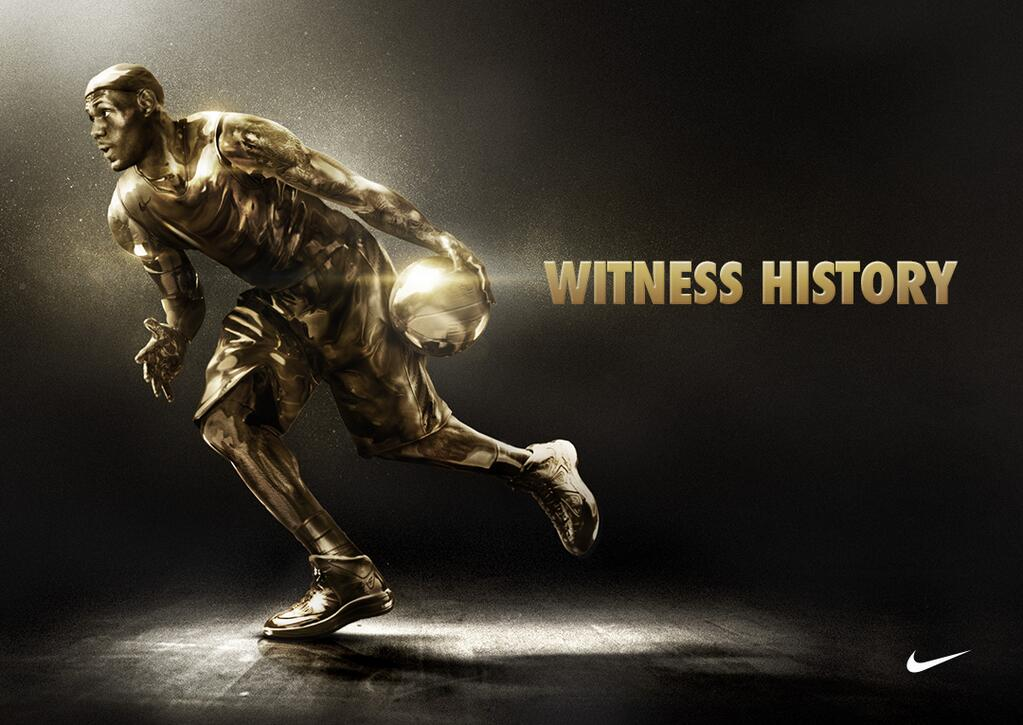 Nike Witness History Lebron Ad Nike Lebron Shoes Ads 3243013 Hd Wallpaper Backgrounds Download