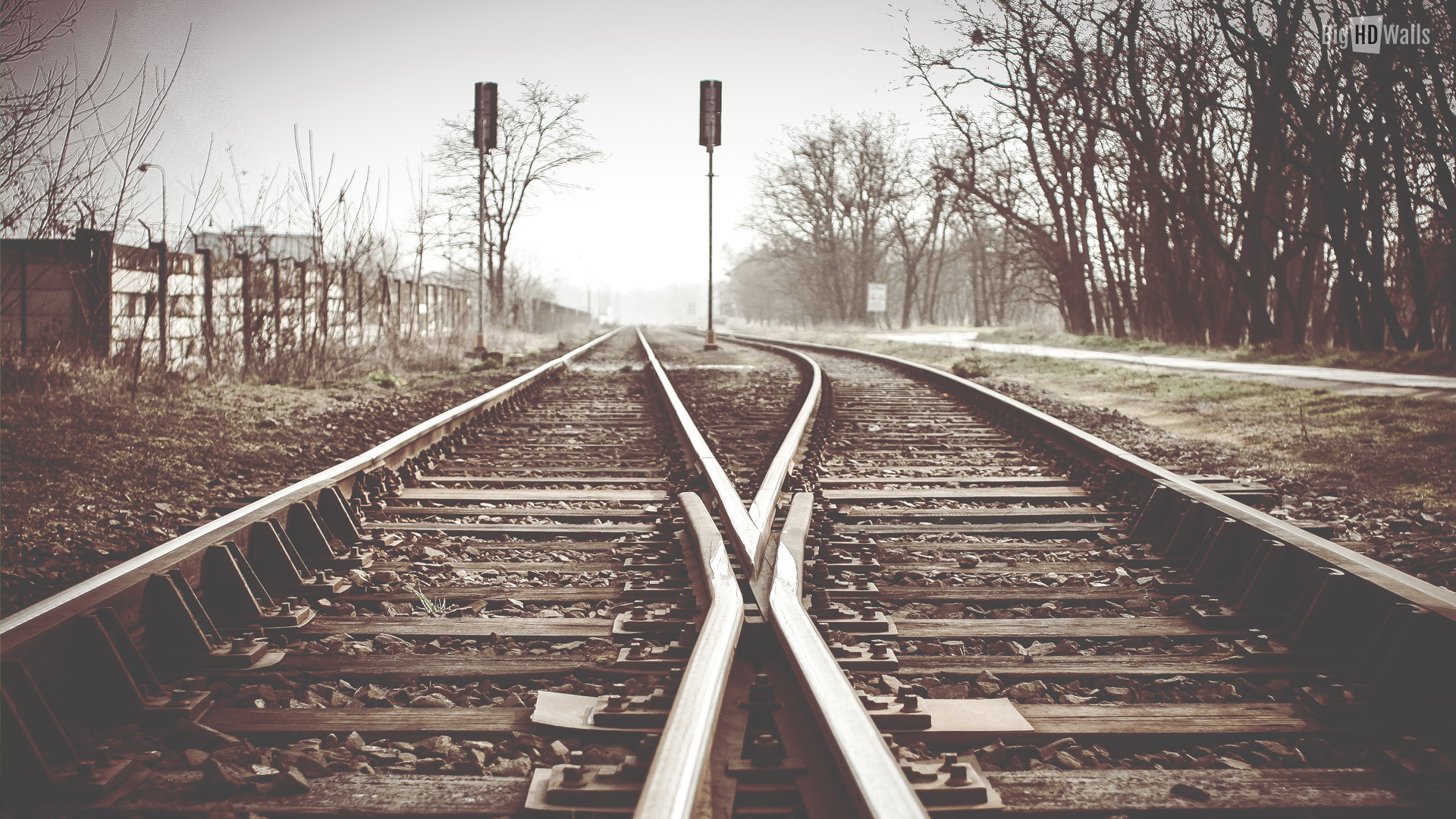 1920x1080, Train Track Hd Images Wallpapers   Data - Old Railway , HD Wallpaper & Backgrounds
