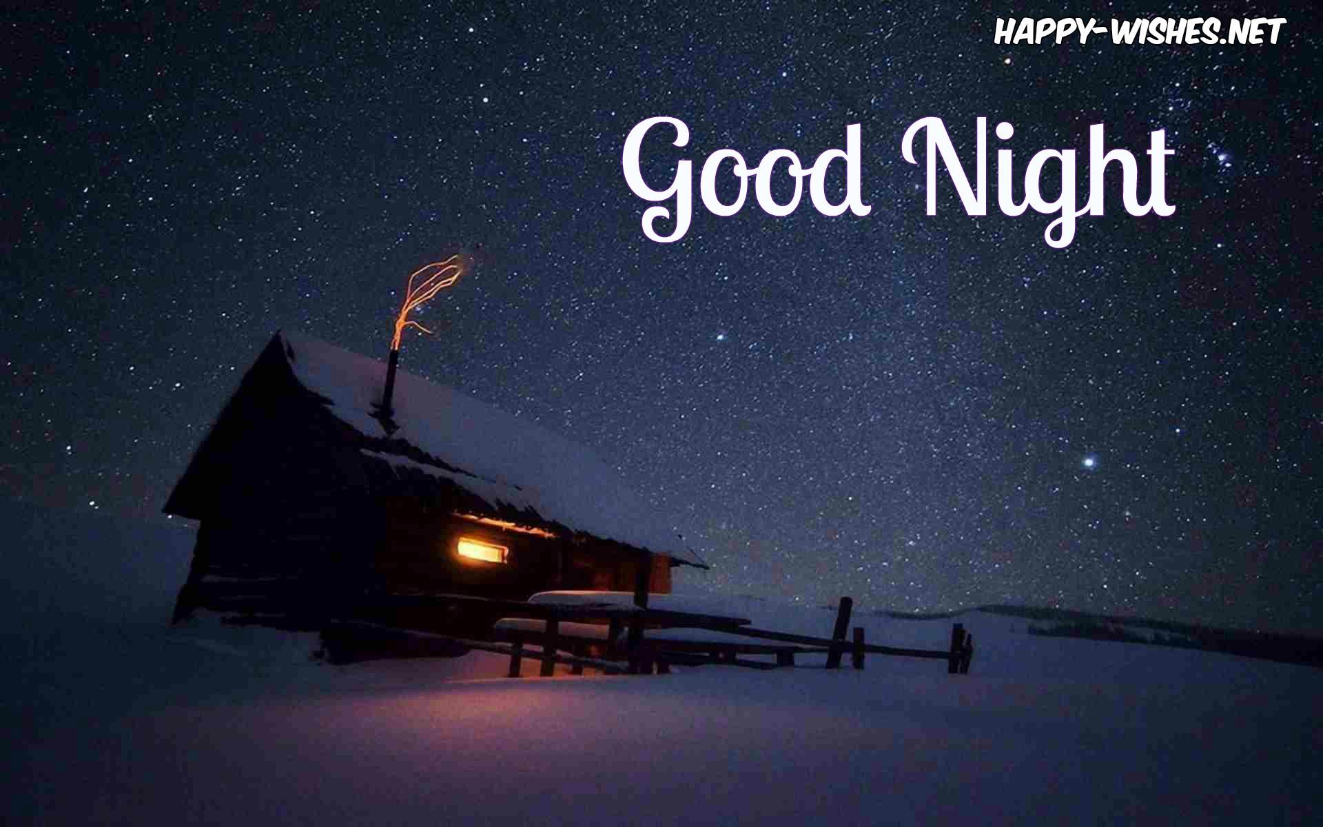 Best Good Night Wallpaper Good Night In Winter Season 3246603 Hd Wallpaper Backgrounds Download