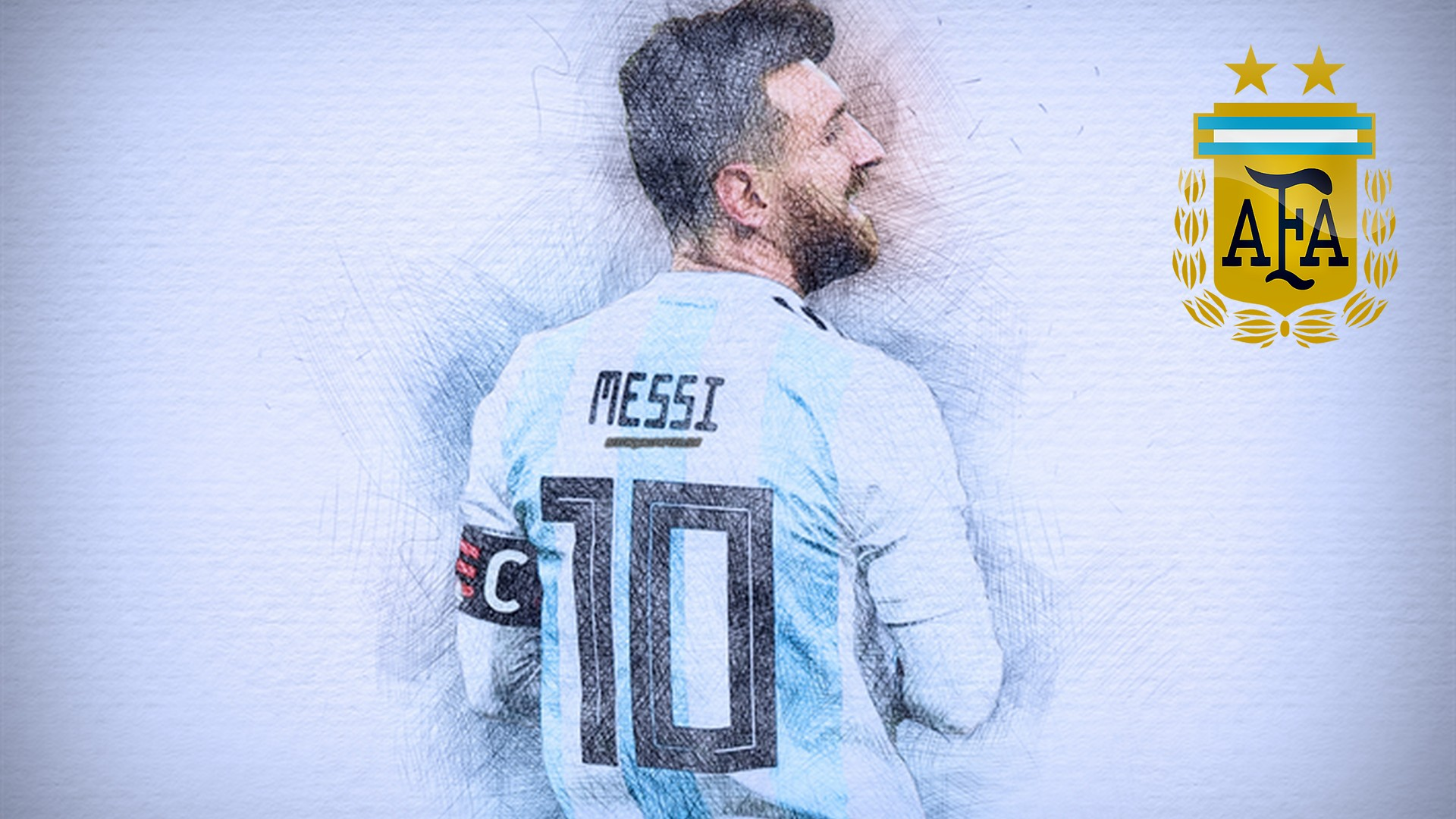 Best Messi Argentina Wallpaper With Image Resolution - Messi Desktop Wallpaper 2019 , HD Wallpaper & Backgrounds